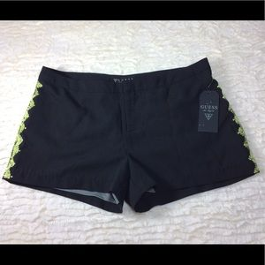 Black guess dress shorts